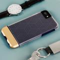 Prodigee Stencil iPhone 7 Case - Navy Blue / Gold