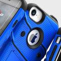 Zizo Bolt Series iPhone 7 Tough Case & Belt Clip - Blauw / Zwart