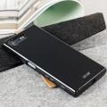 Olixar FlexiShield Sony Xperia X Compact Gel Case - Effen Zwart