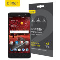 Olixar ZTE Grand X4 Screen Protector 2-in-1 Pack