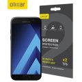 Olixar Samsung Galaxy A5 2017 Näytönsuojakalvo - 2-in-1 Pack