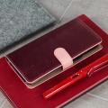 Hansmare Calf Samsung Galaxy S8 Wallet Case - Roze