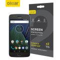 Olixar Motorola Moto G5 Plus Screen Protector 2-in-1 Pack