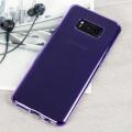 Olixar FlexiShield Samsung Galaxy S8 Plus Gel Case - Purple