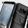 Zizo Bolt Series Samsung Galaxy S8 Tough Case Hülle & Gürtelclip Schwarz