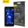 Olixar HTC U11 Screen Protector 2-in-1 Pack