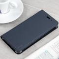 Officiële HTC U11 Flip Case van Echt Leer - Donker Grijs