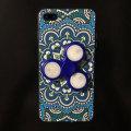 Olixar iPhone 8 / 7 Plus Fidget Spinner Pattern Case - Blue / White