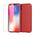 Olixar X-Trio Full Cover iPhone 8 Case - Rood