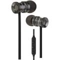 Groov-e Bullet Buds Metal Wireless Earphones with Mic -Silver