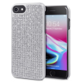 LoveCases Luxury Crystal iPhone 8 / 7 / 6S / 6 Case - Silver