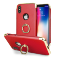 Olixar X-Ring iPhone X Finger Loop Case - Rot
