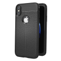 Olixar Attaché Premium iPhone X Leather-Style Protective Case - Black