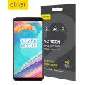Olixar OnePlus 5T Displayfolie 2-in-1 verpakking