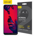 Olixar Huawei P20 Pro Film Screen Protector 2-in-1 Pack