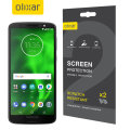 Olixar Motorola Moto G6 Play Screen Protector 2-in-1 Pack