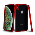 Olixar Colton iPhone XS 2-Piece Case With Screen Protector - Red