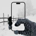 Olixar Smart TouchTip Unisex Touchscreen Handschuhe - M/L - Dunkelgrau