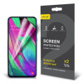 Olixar Samsung Galaxy A40 Film Screen Protector 2-in-1 Pack