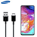 Official Samsung Galaxy A70 USB-C Charging & Sync Cable - Black - 1.5m