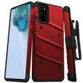 Zizo Bolt Samsung Galaxy S20 Tough Case - Red