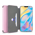 Olixar Soft Silicone iPhone 12 mini Wallet Case - Pastel Pink