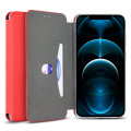 Olixar Soft Silicone iPhone 12 Pro Max Wallet Case - Red