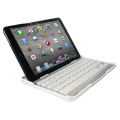 Aluminium Bluetooth Keyboard Stand for iPad Mini 3 / 2 / 1 - White