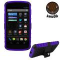 ArmourDillo Hybrid Protective Case for Google Nexus 4 - Purple