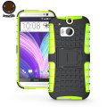 ArmourDillo Hybrid Protective Case for HTC One M8 - Green