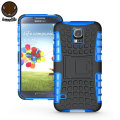 ArmourDillo Hybrid Protective Case for Samsung Galaxy S5 - Blue