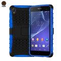 ArmourDillo Hybrid Protective Case for Sony Xperia Z2 - Blue