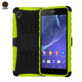 ArmourDillo Hybrid Protective Case for Sony Xperia Z2 - Green