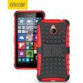 ArmourDillo Microsoft Lumia 640 XL Protective Case - Red