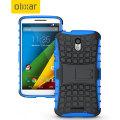 ArmourDillo Motorola Moto X Play Protective Case - Blue