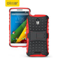 ArmourDillo Motorola Moto X Play Protective Case - Red