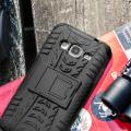 ArmourDillo Samsung Galaxy J3 2016 Protective Case - Black
