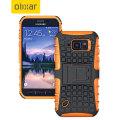 ArmourDillo Samsung Galaxy S6 Active Protective Case - Orange