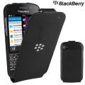 BlackBerry Q10 Flip Shell - Black - ACC-50707-201
