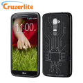Cruzerlite Bugdroid Circuit Case for LG G2 - Black