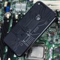 Cruzerlite Bugdroid Circuit Google Pixel Case - Black