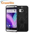 Cruzerlite Bugdroid Circuit HTC One M8 Case - Black