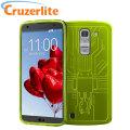 Cruzerlite Bugdroid Circuit LG G Pro 2 Case - Green