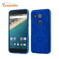 Cruzerlite Bugdroid Circuit Nexus 5X Case - Blue