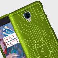 Cruzerlite Bugdroid Circuit OnePlus 3T / 3 Case - Green
