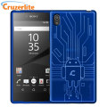 Cruzerlite Bugdroid Circuit Sony Xperia Z5 Case - Blue