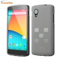 Cruzerlite CyanogenMod TPU Case for Google Nexus 5 - Frost White