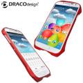 Draco Design Aluminium Airborne Bumper for Samsung Galaxy S4 - Red