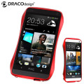 Draco Design Aluminium Bumper for HTC One M7 - Flare Red