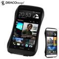Draco Design Aluminium Bumper for HTC One M7 - Metro Black